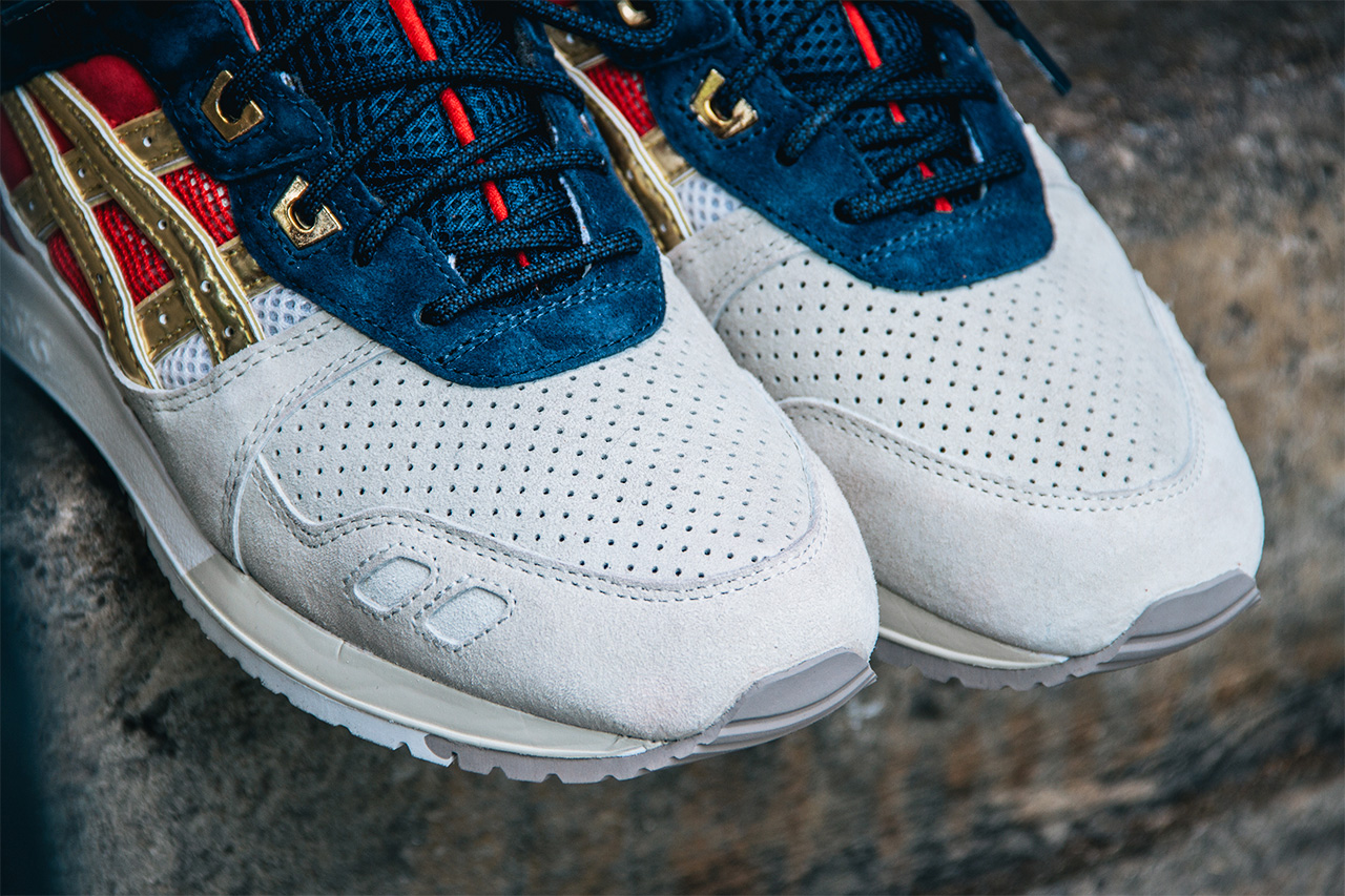CONCEPTS x ASICS GEL LYTE III  BOSTON TEA PARTY    The Daily Cloth 3b3f1481ee3a