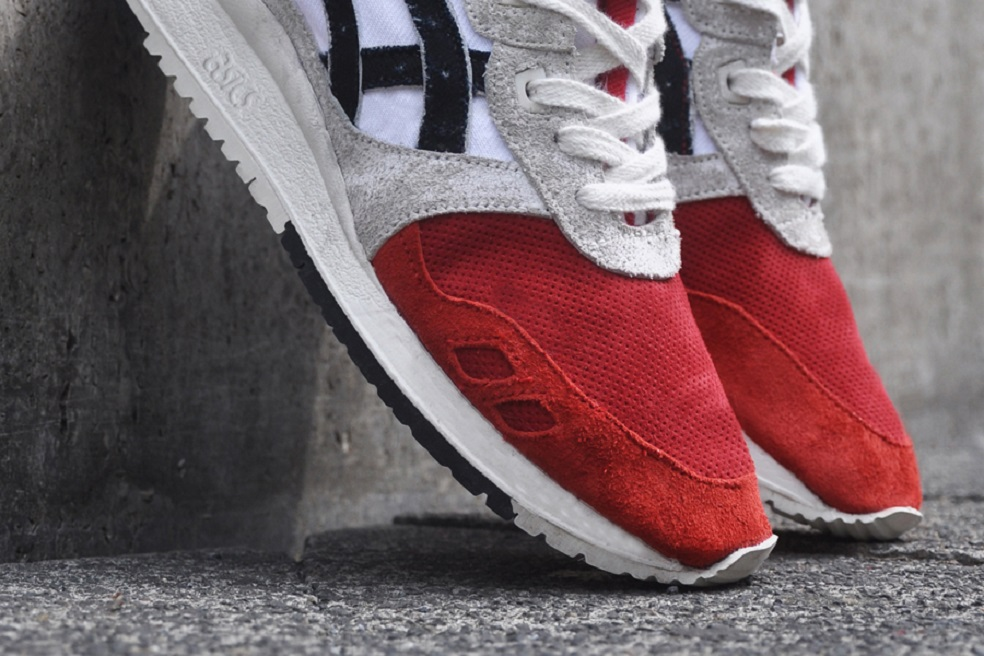 new arrival d85b0 8a98f AFEW x ASICS GEL LYTE III 'KOI' | The Daily Cloth