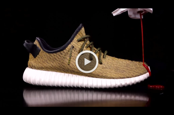 new concept 0221e f6ec1 CUSTOM YEEZY GOLD By Crep Protect. | The Daily Cloth