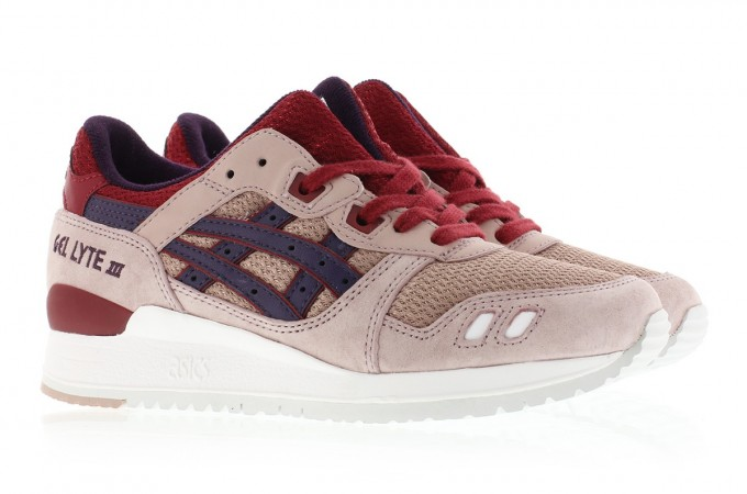 asic gel lyte 3 adobe rose