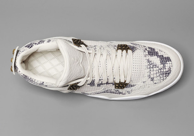 best service 84a50 6459b THE AIR JORDAN 4 REACHES ITS PINNACLE WITH NEW SNAKESKIN ...