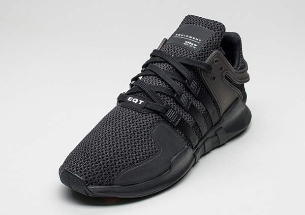 "best service bc69e 5322b ADIDAS EQT SUPPORT ADV ""TRIPLE BLACK"". 