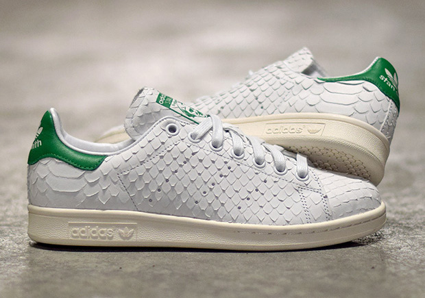 best cheap 886c9 57d54 THE ADIDAS STAN SMITH IS RELEASING IN PREMIUM PYTHON SNAKE SKIN. July 6th,  20160 Comments