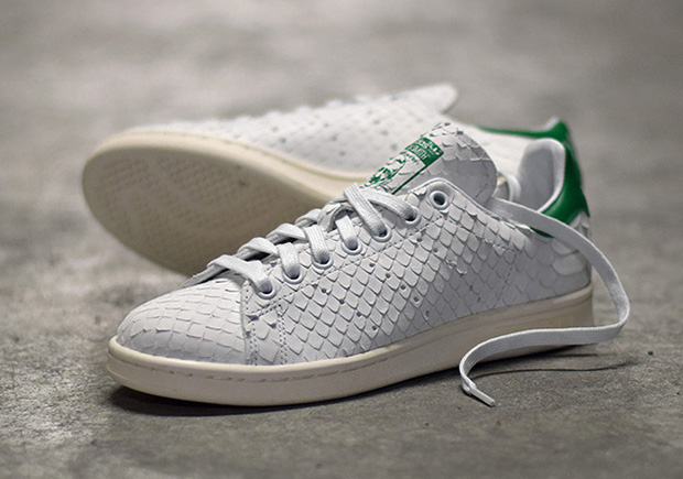128b2fd02914b THE ADIDAS STAN SMITH IS RELEASING IN PREMIUM PYTHON SNAKE SKIN ...