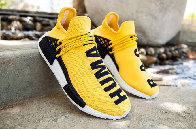 """best website d0057 29c2a PHARRELL'S ADIDAS NMD """"HUMAN RACE"""" RELEASES THIS WEEKEND ..."""