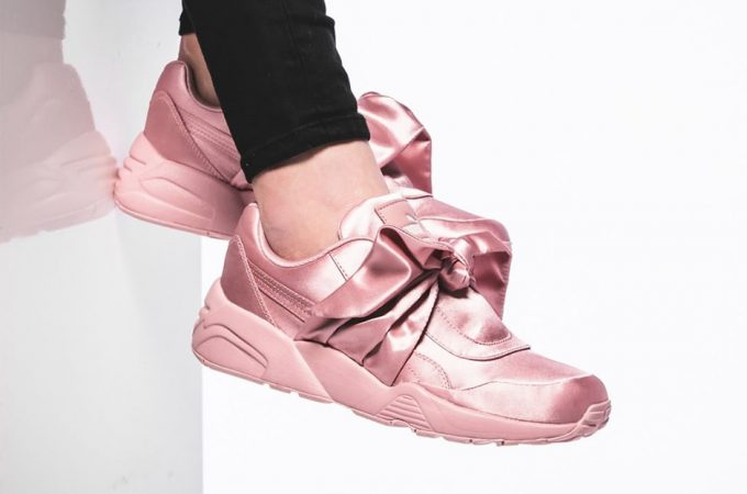 huge discount f20d1 29257 WHERE TO BUY THE RIHANNA X PUMA FENTY BOW TRAINER & SLIDE ...