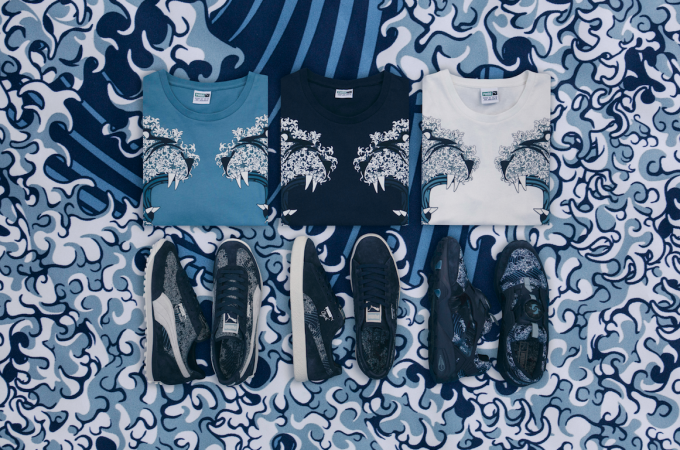 reputable site 82fac 84ebc PUMA Makes Waves with All-New Ukiyo-e Inspired Capsule ...