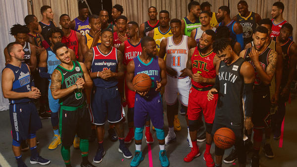 amanecer cuadrado táctica  Nike X NBA unveil Statement Uniforms and Connect Jersey App. | The Daily  Cloth